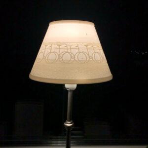 Lithophane-lampskärm